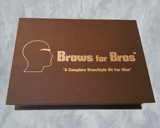 brows for bros stencil kit